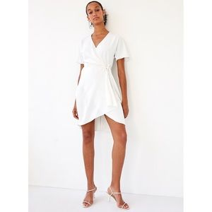 Babaton Wallace dress white